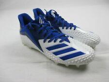 NEW adidas Freak Carbon Low - White/Blue Cleats (Men's Multiple Sizes)