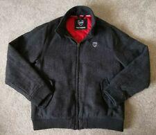 ARSENAL Football Club Grey Casual Coat Jacket - GUNNERS - UK Size Medium