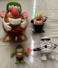 Hasbro Playskool Mr Potato Head Lot, Accessories, Star Wars, Animals, Hulk