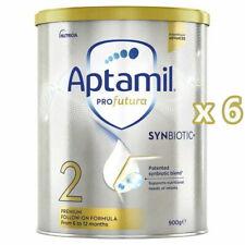 6 x NEW Aptamil Profutura Stage 2 Premium Follow On Formula 6 - 12 Months 900g