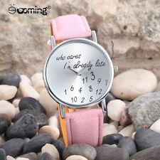 Fashion Women Pink Geneva Watch Stainless Steel Lady Analog Quartz Wrist Watch