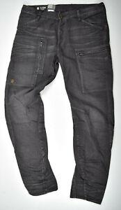 G-Star RAW, Powel 3D Tapered COJ Jeans, W33 L32 Cargohose Fliegerhose Herren