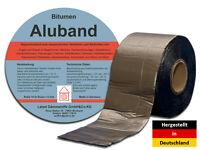 Bitumenband Aluband Reparaturband Dichtband - Breite 75 mm Bleifarben