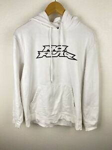 Vintage No Fear Mens Jumper Size M Pullover Hoodie Rare 90s Whites