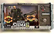 HASBRO GI JOE SIGMA 6 SIGMA STRIKE DUKE ACTION FIGURE WITH POWER ARMOR NIB NEW!