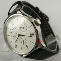 Parnis 42mm ST1780 Power Reserve Automatic Movement Men's Wrist Watch