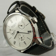 Parnis 42mm Seagull 1780 Power Reserve Automatic Movement Men's Wrist Watch