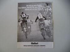 advertising Pubblicità 1978 SELLE GIULIARI e KTM/MOTO VILLA/SWM/RAHIER