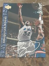 Shaquille Oneal Upper Deck players quote book #49