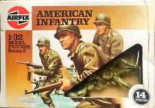 Model figure American infantry airfix serie 2 1/32 kit 51552