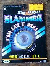 RARE 1994 NOS POG POGS SRM SEE THRU CLEAR BUGS SLAMMER NO. 9 SEALED IN PACKAGE