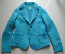 Street One Jacke Damen Gr. 40 gekochte Wolle türkis Blazer