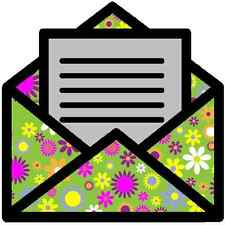 30 Custom Floral Letter Day Art Personalized Address Labels