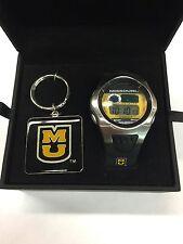 University Of Missouri Tigers Digital Sports Watch & Key Chain Gift Set Rockbox