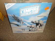 Rare Vintage Star Wars La Guerre Des Etoiles La E'mpire Contra Attaque!