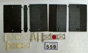 L559 Tri-ang Hornby  single track level crossing parts 00 gauge