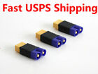 3 PCs Male EC3 To Female XT60 XT-60 Connector Adapter No Wires Q2086 RC