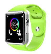 Reloj Inteligent Bluetooth Podómetro Con tarjeta SIM TF Cámara color VERDE
