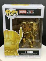 Funko Pop! Marvel Studios Thor #381 Gold Chrome