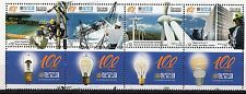 ENERGY ELECTRICITY DAM WINDMILL ECOLOGY ENVIRONMENT LIGHT BULB URUGUAY MNH STAMP