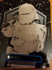 2016 Star Wars The Force Awakens 2 #7 Snowtrooper Power of First Order