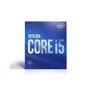 Intel Core i5-10400F 6-Core Comet Lake Processor 2.9GHz 8.0GT/s 12MB LGA 1200