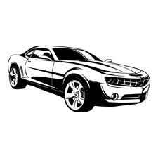 Chevy Chevrolet Camaro Dc Clipart Vector Clip Art Graphics Dxf Svg Eps Ai Png