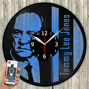 LED Clock Tommy Lee Jones LED Light Vinyl Record Wall Clock LED Wall Clock 5002