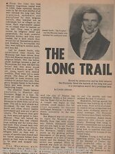 Mormon Move Westward -The Long Trail of hazards and suffering of Mormon Settlers