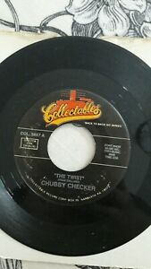 Chubby Checker – The Twist  7  Inch Vinyl  Rare  Collectables – COL. 3857