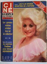 Ciné Télé Revue 24/09/1981; Borg-McEnroe/ Depardieu/ O'Keeffe et Bo Derek/ Léota