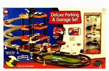 A to Z Deluxe Parking & Garage Playset For Kids Children Toy Cars