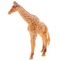 Plastic Giraffe Animal Model Action Figure Toys Collectible Zoo Layout #6