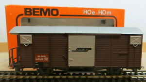 Bemo 2056 Freight Car Rhb Narrow Gauge H0m Like New IN Ersatz-Vp