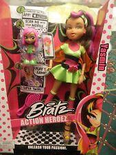 """BRATZ ACTION HEROEZ """"YASMIN""""  NIB"""