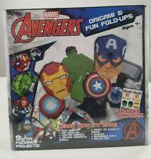Marvel Avengers Origami & Fun Fold Ups Brand New Factory Sealed