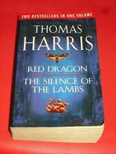 wmf* SALE : THOMAS HARRIS ~ RED DRAGON / THE SILENCE OF THE LAMBS