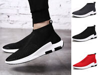 Men's Sneakers sports socks shoes running casual breathable Woven shoes