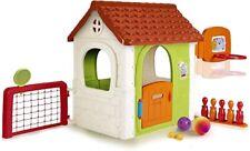 Feber Casetta Multy Activity House 6 in 1 con Giochi Incorporati per Bambini 3+