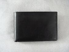 Visconti , Travel Wallet  ,  Reisepasshülle, Geldbörse, RFID , Leder in schwarz