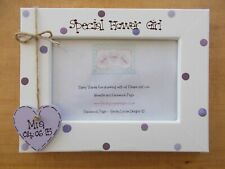 Personalised Special Flower Girl Wooden Photo Frame Keepsake Gift QUICK POSTAGE