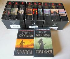 Sword Of Truth-3 Boxed Sets+2 more-11 PB Book Lot Terry Goodkind  Fantasy