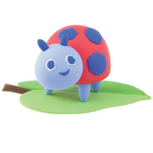 The Very Hungry Caterpillar Super Dough Model Kit Ladybug with Leaf