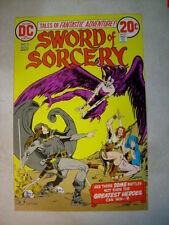 SWORD OF SORCERY #3 COVER ART original cover proof 1970's CHAYKIN