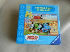 "Thomas Train ""Thomas Goes to the Fair"" 60 pc Ravensburger puzzle Used MISSING"