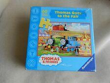 "Thomas Train ""Thomas Goes to the Fair"" 60 pc Ravensburger puzzle Used MISSING"