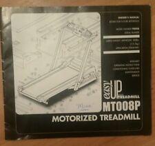 MT008P Motorized tredmill book guide