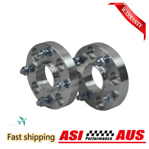 2Pcs 4X100 Wheel Spacer For Mazda Mx-5 Na Nb 12X1.5 54.1Mm Hubcentric 25Mm
