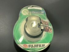 NOS Fujifilm Q1 2x Zoom APS Camera W/Flash & 1 Roll Fuji 200 25 APS Film.A24