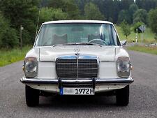 Mercedes-Benz 220 D /8 Strich Acht Oldtimer W115 Leder Diesel H-Kennz. TÜV neu!